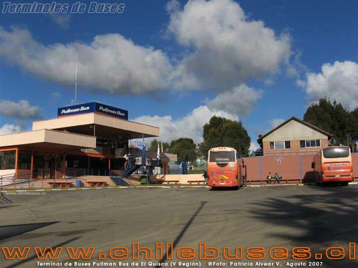 Terminal Pullman Bus El Quisco - 2