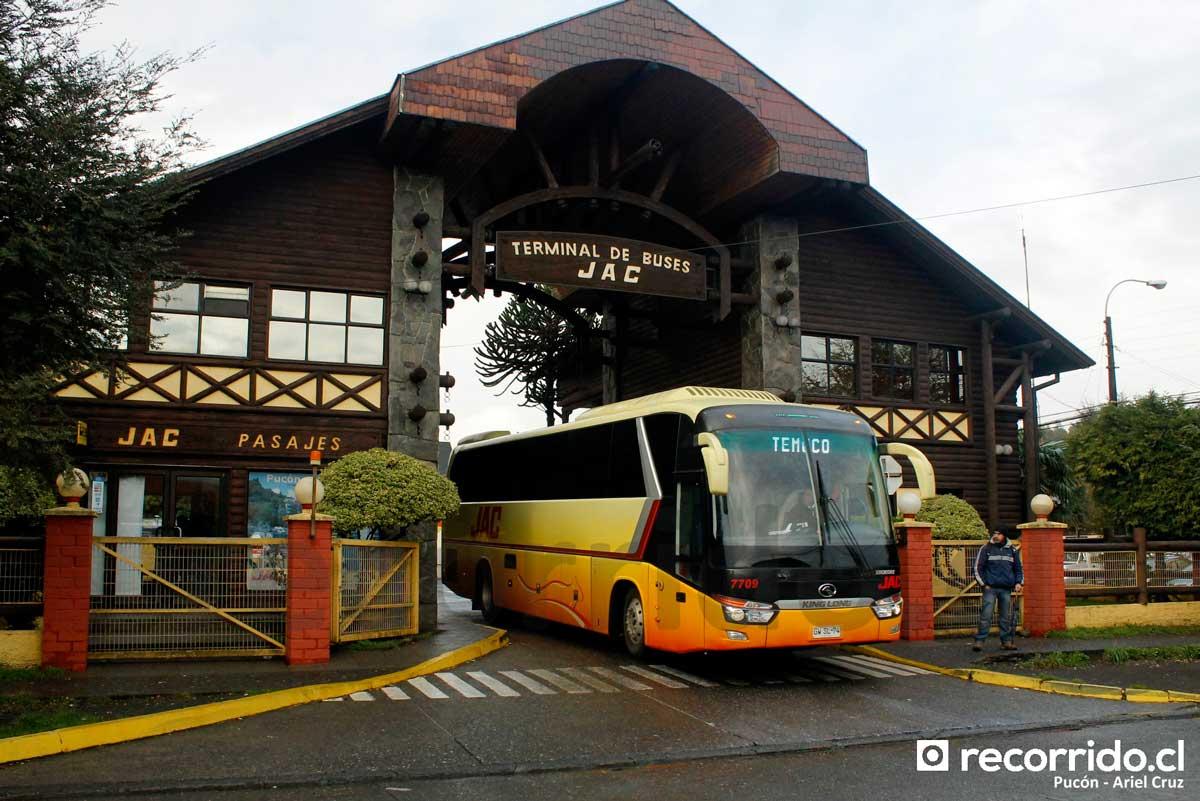 Terminal Pucón - JAC - 4