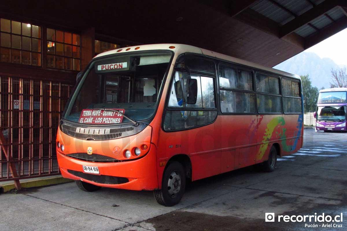 Terminal Pucón - Pullman Bus - 1