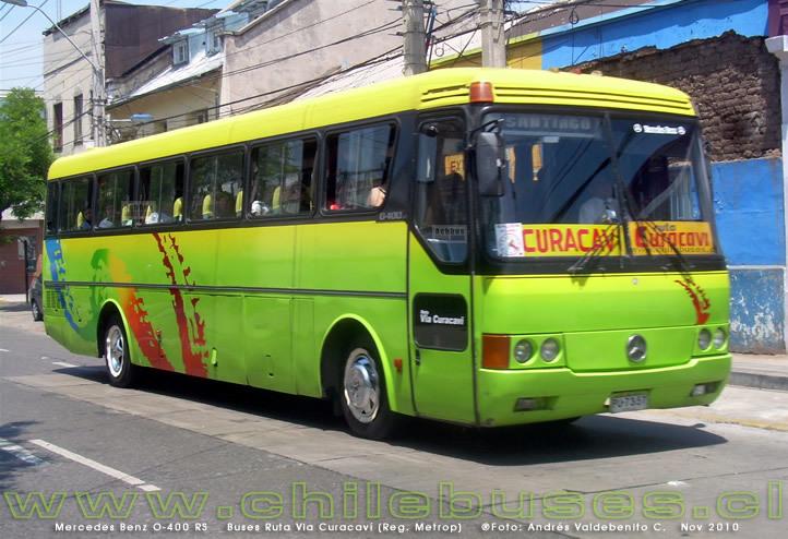 Ruta Via Curacaví | Bus tickets in recorrido cl